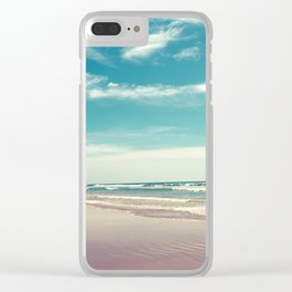 The swimmer Clear iPhone Case