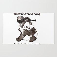 European Panda Rug