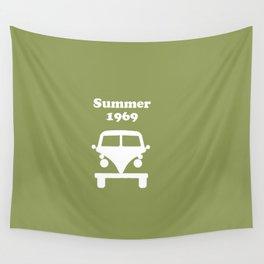 Summer 1969 - Green Wall Tapestry