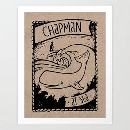 Chapman at Sea Art Print