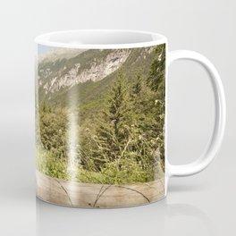 A mountain landscape Coffee Mug