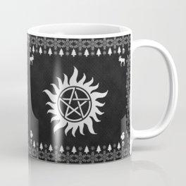 Supernatural Holiday Sweater Coffee Mug