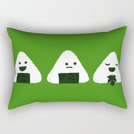 Nude Onigiri Rectangular Pillow