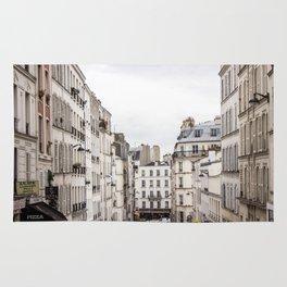 Montmartre View of Paris  Rug