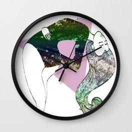 Love, the Road to Awe Wall Clock