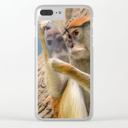 Mirror Selfie Clear iPhone Case