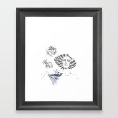 My Mermaid Framed Art Print