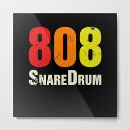 808 RimShot Drum Machine Vintage Metal Print