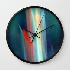 abstract Gladiolus #1 Wall Clock