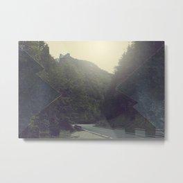 Surreal Mountains Metal Print