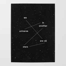 we are all stars Poster