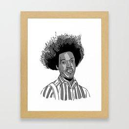Hi, I'm Buh-weet, amembuh me? Framed Art Print