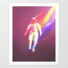 The Euronaut Art Print