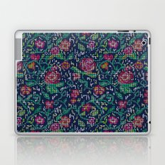 Pixel Flowers Laptop & iPad Skin