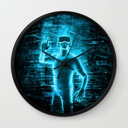 Virtual Reality User Wall Clock