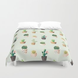 Cactus Love Duvet Cover