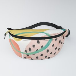 abstract rocks Fanny Pack