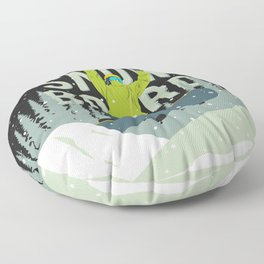 Snowboard Floor Pillow