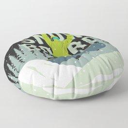 Snowboard Floor Pillow