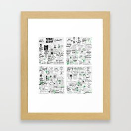 swsw 2014 square Framed Art Print