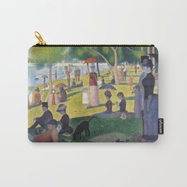 A Sunday on La Grande Jatte by Georges Seurat, 1884 Carry-All Pouch