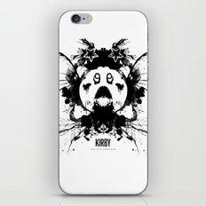 Kirby Ink Blot Geek Psychological Disorders iPhone & iPod Skin