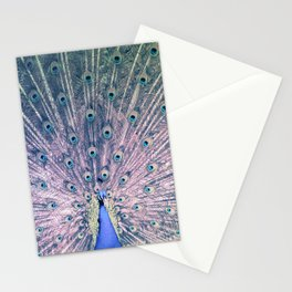 pavo real Stationery Cards