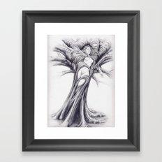 Driade 2 Framed Art Print