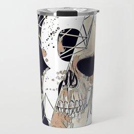 Skull illustration. Travel Mug