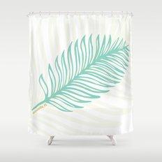 Jacksonville, Florida Palm Leaf Shower Curtain