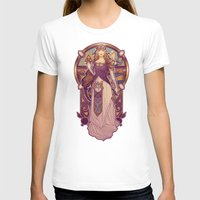 nouveau T-shirts featuring Hylian Nouveau by Megan Lara