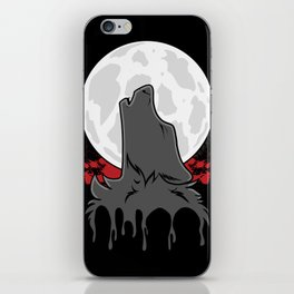 Howl at the Moon (Awoo) iPhone Skin