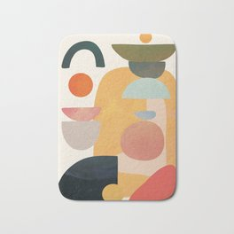 Modern Abstract Art 70 Bath Mat