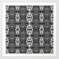 ikat Art Prints featuring ikat by a.r.r.p.