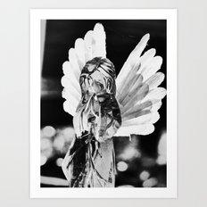 cemetery angel 2016 I Art Print