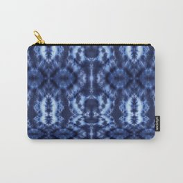 Topanga Tie-Dye Blue Carry-All Pouch