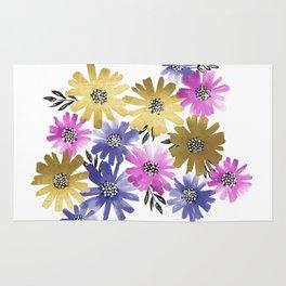 Flower Cluster Rug