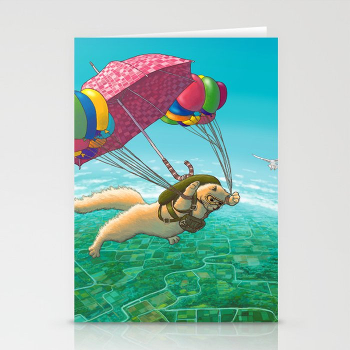 PARACHUTE Stationery Cards