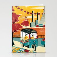 thailand Stationery Cards featuring Bangkok, Thailand by Sam Brewster