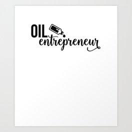 CUTE PRETTY ESSENTIAL OIL DIFFUSER printS - OIL DEALER Art Print