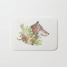 Forest Wolf Bath Mat