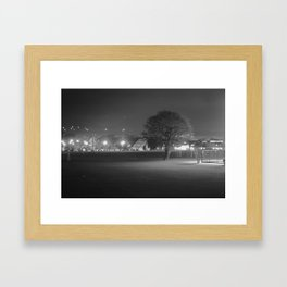 Field at Night Framed Art Print