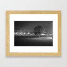Field at Night Framed Art Print