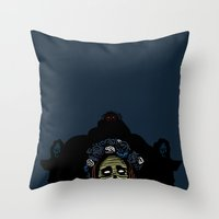 lana Throw Pillows featuring Lana by Stephan Brusche