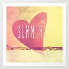 Summer Love Art Print
