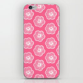 Graphic flowers iPhone Skin