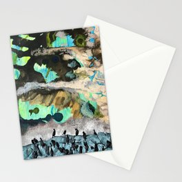 Raven of the Sea Stationery Cards