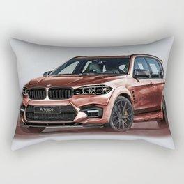 Bavarian car X5 by Artrace Rectangular Pillow