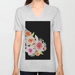 Spanish flowers Unisex V-Neck
