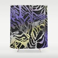 safari Shower Curtains featuring Safari by Vikki Salmela